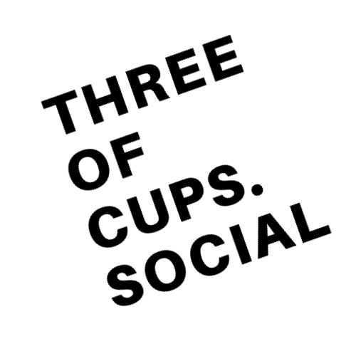 Three of Cups Social logo